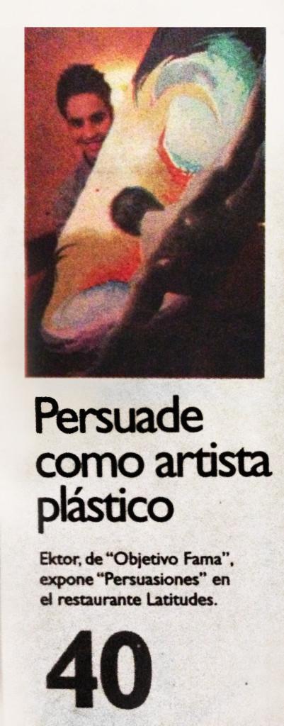 persuade como artista